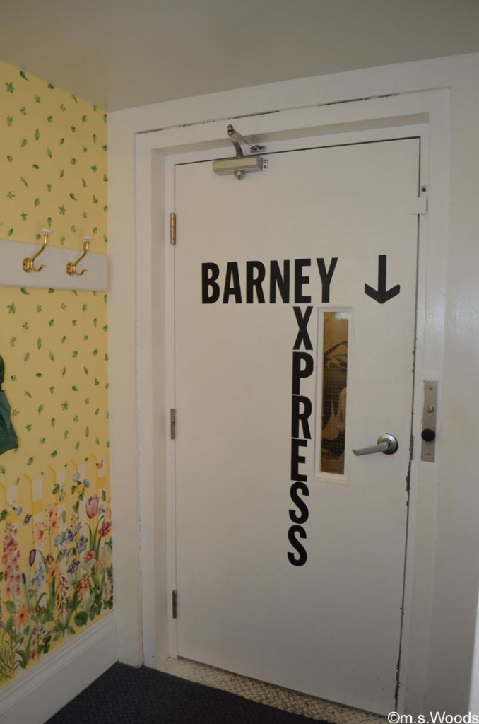 barney-express-doors-mayberry-cafe-danville-indiana