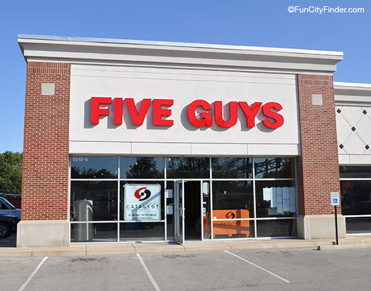 Five Guys Restaurant Avon