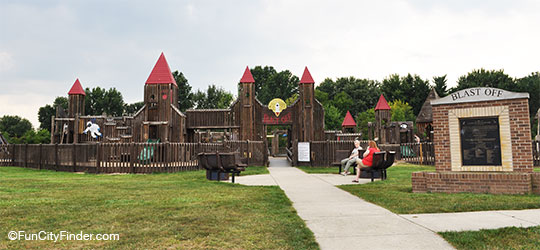 The Blastoff Playground In Brownsburg