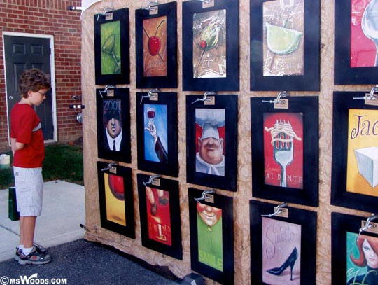 Art Displayed At Carmel International Arts Festival