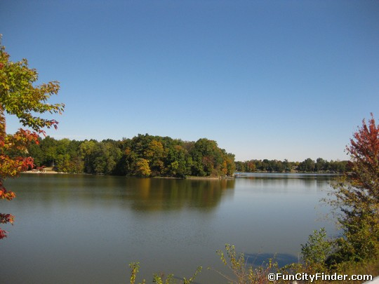 View Of Morse Lake Cicero Indiana