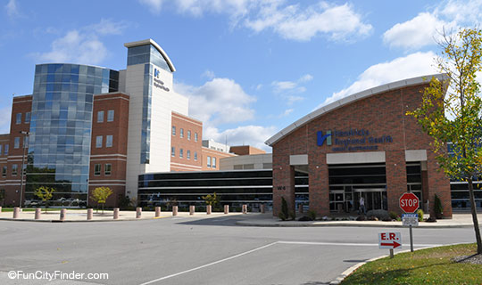 Hendricks Health Hospital In Danville Indiana