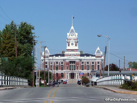 County Courthouse Franklin Indiana