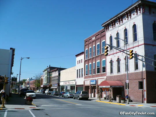 Jefferson Street Downtown Franklin