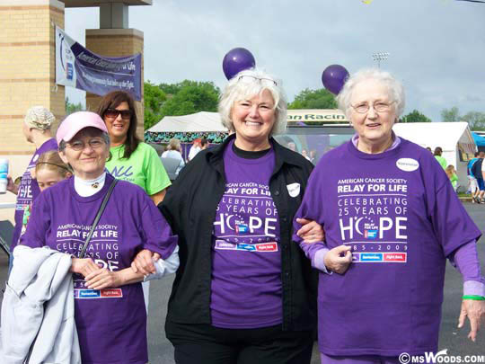 Relay For Life Participants Franklin Indiana