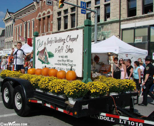 Meyer Mill Float In Riley Days Parade Greenfield Indiana