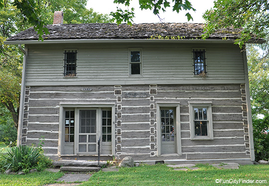 Old Log Jail House Greenfield Indiana