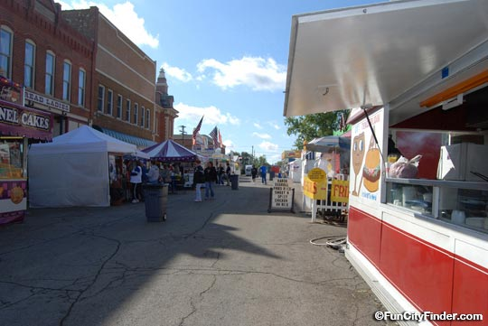 Street Scene Riley Days Festival Greenfield