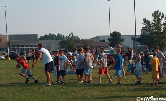 Youth Football League Camp Greenfield Indiana