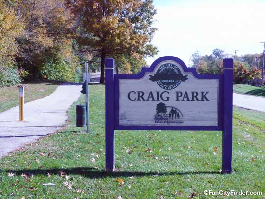 Craig Park Sign Greenwood Indiana