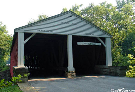 Ramp Creek Covered Bridge