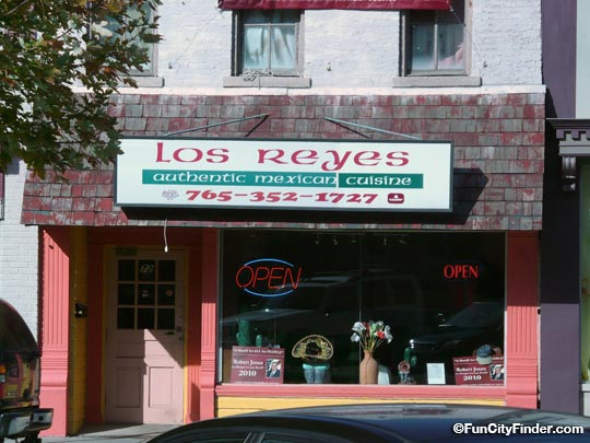 Los Reyes Restaurant In Downtown Martinsville Indiana