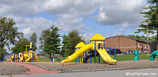 Playground At Mooresville Elementary