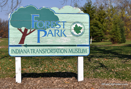 Parks Forest Sign Noblesville Indiana