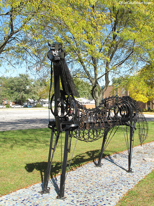 Stony Creek Elementary School Sculpture