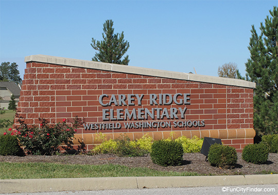 Carey Ridge Elementary Sign