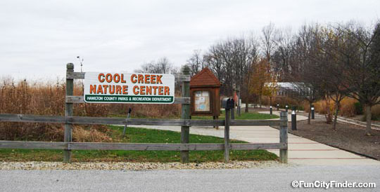 Cool Creek Park Entrance