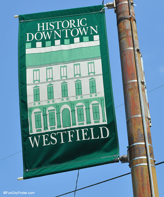 Historic Downtown Westfield Banner