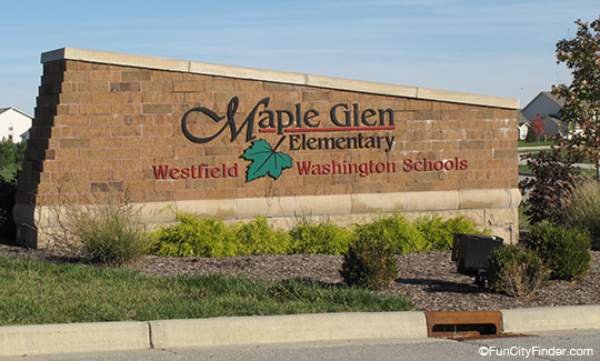 Maple Glen Elementary Sign