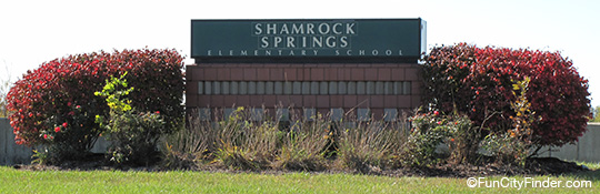 Shamrock Springs Elementary Sign