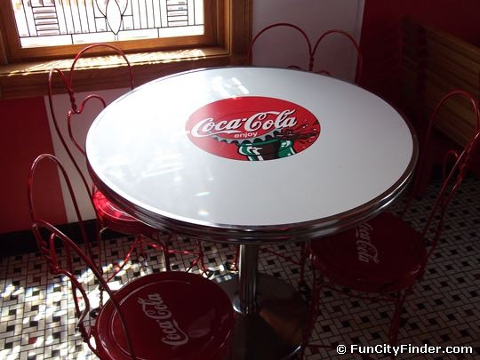 Carter Building Coca Cola Table Zionsville