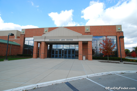 Performing Arts Center Zionsville Community High School
