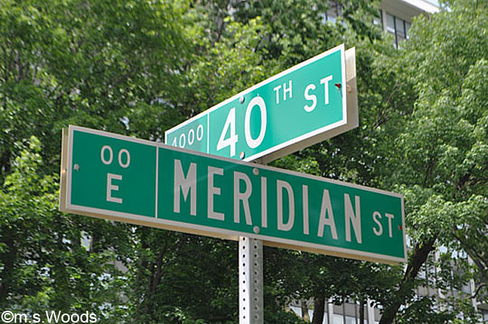 40th and Meridian Streets