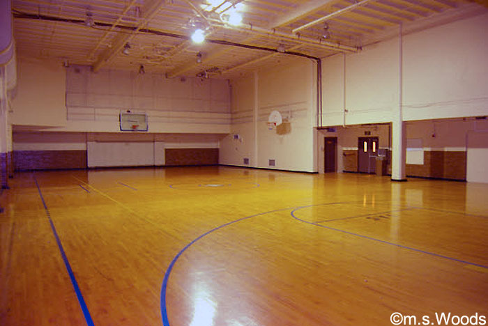 Indianapolis Athletic Club Condos basketball court