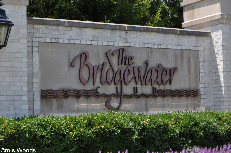 Bridgewater Golf Club Entrance Carmel Indiana