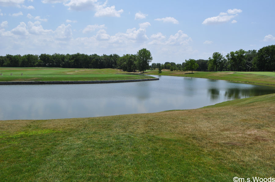 Bridgewater Golf Club Water Feature Carmel Indiana