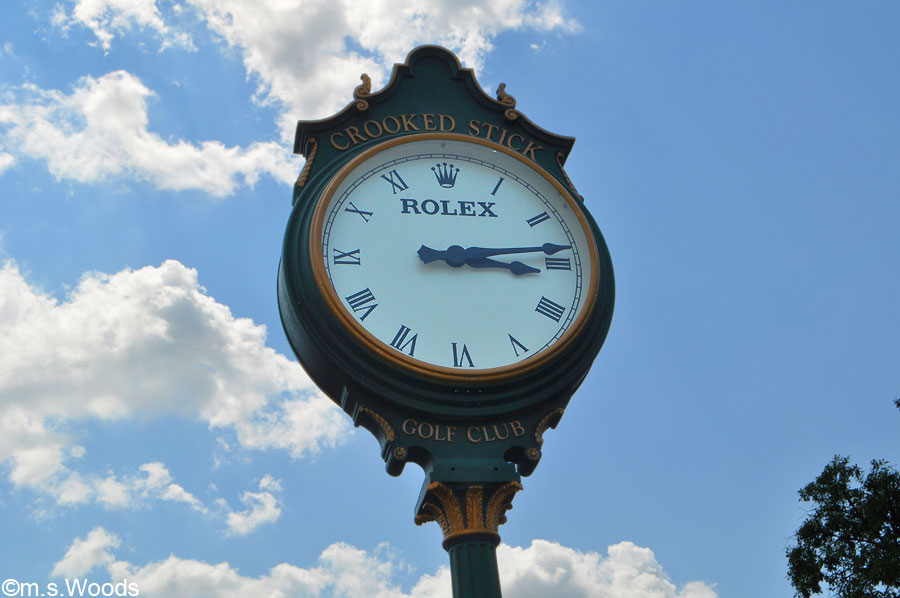 Crooked Stick Rolex Clock