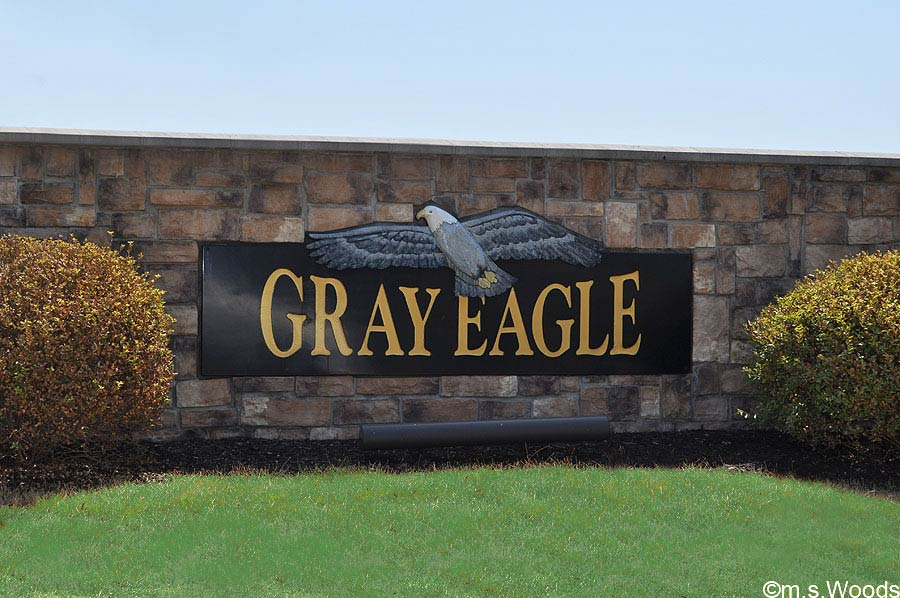 Gray Eagle Golf Club Entrance in Fishers