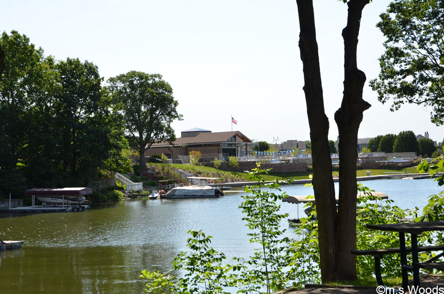 Photo of Lake with Harbour Trees Clubhouse in the Distance