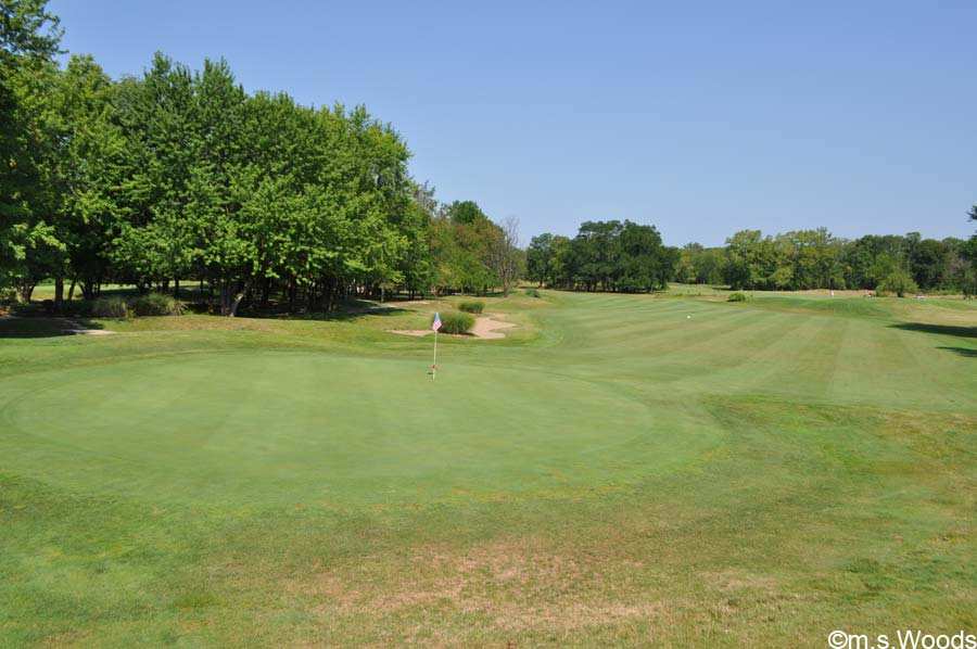 An Expanse of Green at the Ironwood Golf Club in Fishers