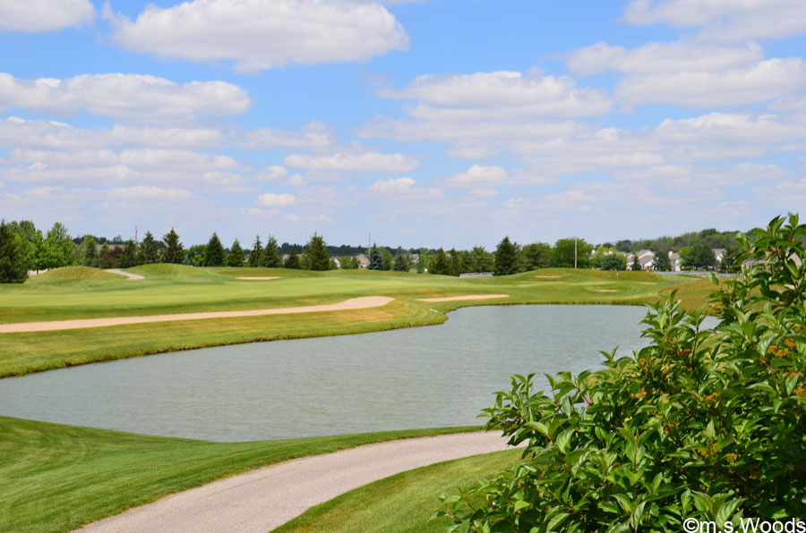 Photo of a Water Trap at Plum Creek Golf Course
