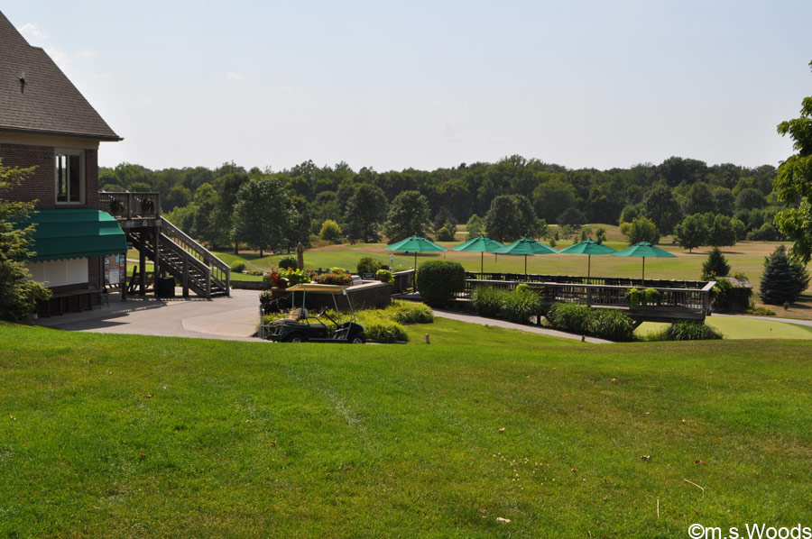 An Expanse of Green outside the Clubhouse
