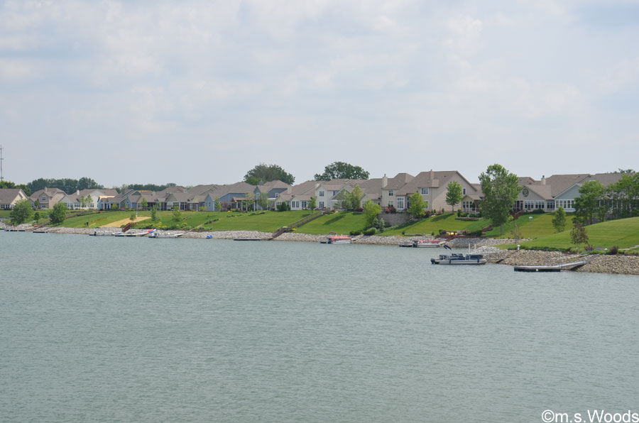 Photo of Homes along the Shoreline in Crystal Lake