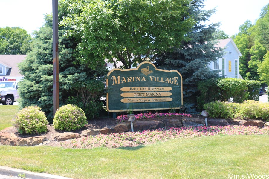 Marina Village Sign