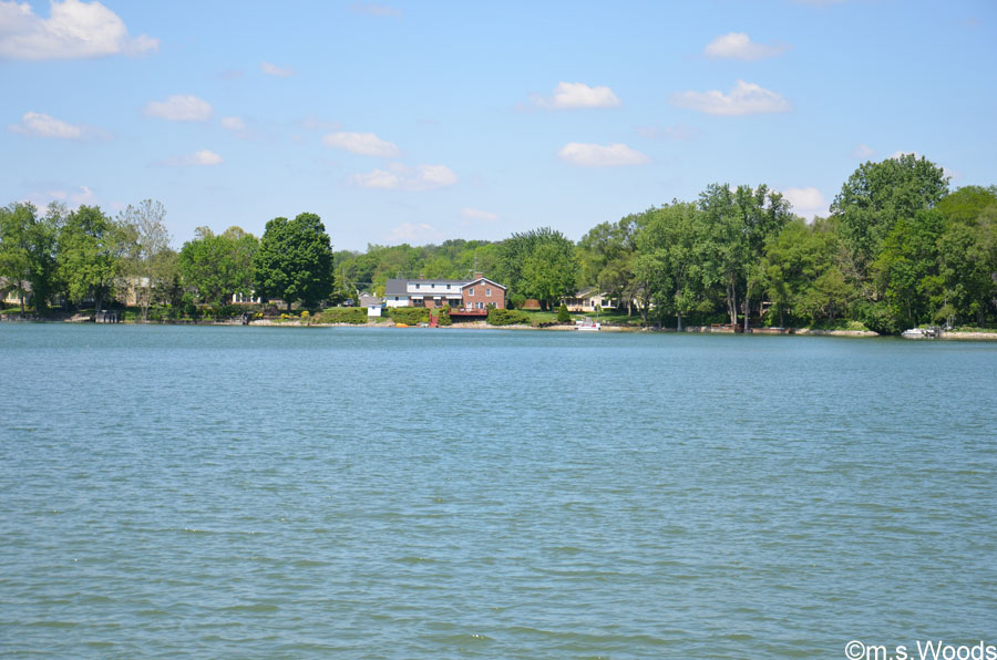 Photo of Lake Kesslerwood, with Lake Homes in the Distance