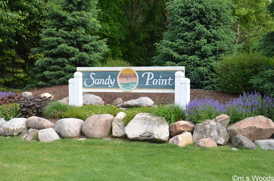 Photo of Sign at Sandy Point Entrance