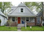 1323 Wright St, INDIANAPOLIS, IN 46203