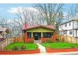 4452 Carrollton Ave, INDIANAPOLIS, IN 46205