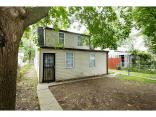 2040 N Exeter, INDIANAPOLIS, IN 46222