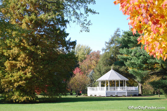 Gazebo at Fort Harrison State Park