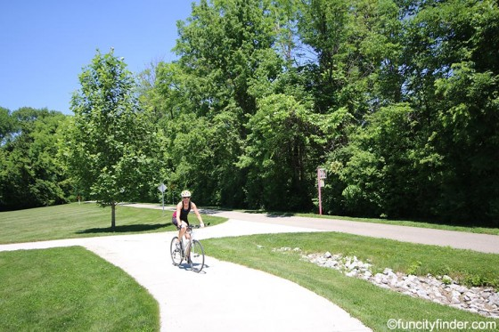 bicyclist-on-path-at-town-hall-park-zionsville