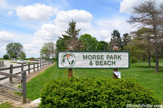 entrance-to-morse-park-and-beach-noblesville-indiana