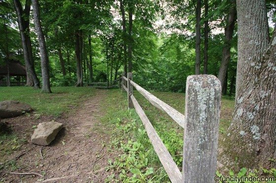 fence-and-trail-washington-township-community-park