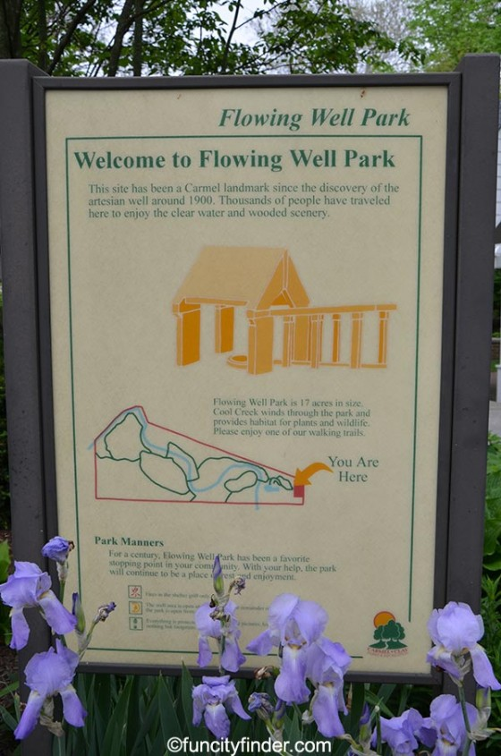 informational-sign--at-flowing-well-park