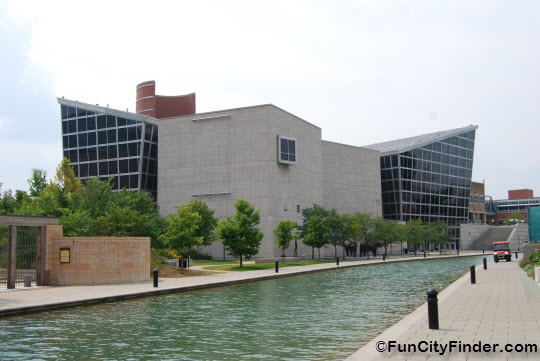 The Indiana State Museum on the Canal Walk