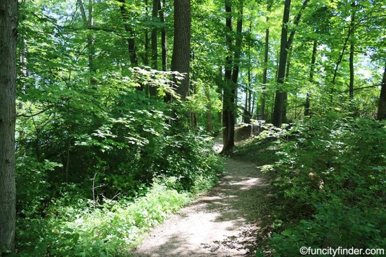 gravel-trail-winds-thru-fall-creek-trail-at-geist-dam